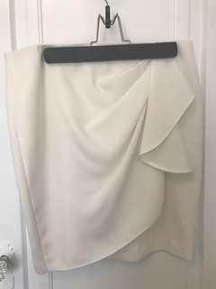 Zara dress skirt, size L, new with tags