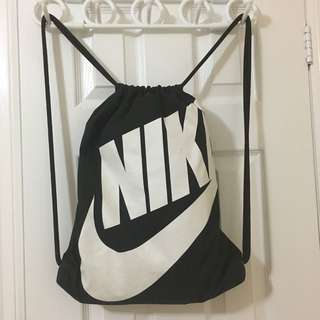 Authentic Nike drawstring bag