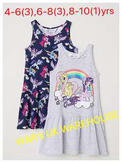 My Little Pony Tee/Dress/Set