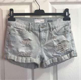 GARAGE BOYFRIEND DENIM SHORTS