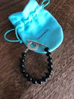 Tiffany & Co Black Onyx Toggle Bracelet