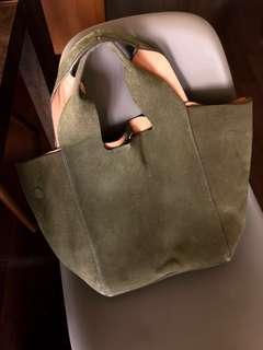 Zara leather tote