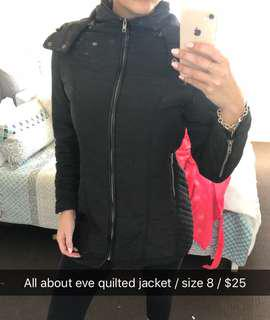 All about eve quilted jacket 8