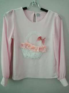 Atasan Crepe / baju modis /baju unik
