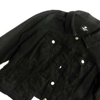 H&M Black Denim Jacket