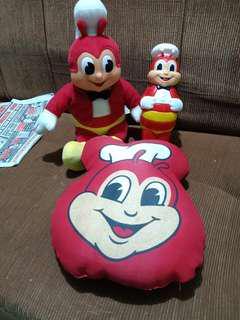 Jollibee Stuff Toy, Pillow, & Tumbler