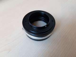 Fotasy Adaptor - Nikon lens on M4/3 cameras