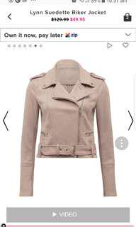 Looking for : Pink suede jacket