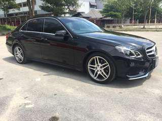 Mercedes E Class E250 for Rent KL Shah Alam Klang