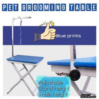 Adjustable pet grooming table for dog and cats grooming tables