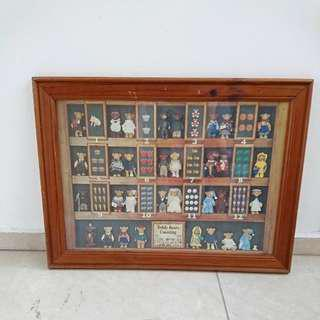 Teddy Bears Counting Framed Up Poster