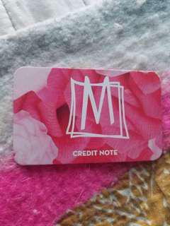 Mendocino Store Credit
