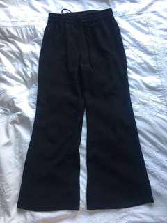 Glassons Black Bell Bottom Pants