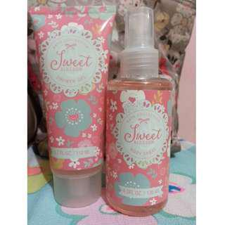 BATH COLLECTION BODY MIST AND SHOWER GEL