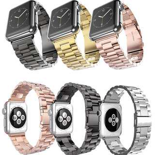 August Instock Apple Iwatch Stainless Steel Strap #JANSIN