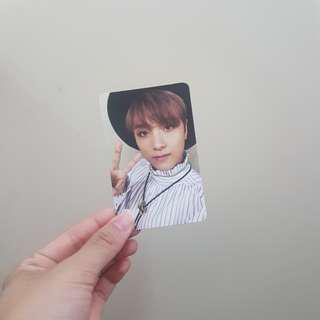 NCT Haechan Cherry Bomb Photocard