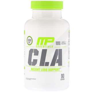 MusclePharm, Essentials, CLA, 1000 mg, 90 Softgels