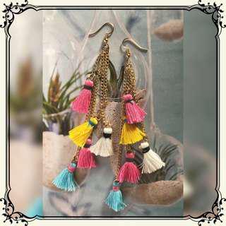 Tassel earring  - RV 001