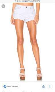 OneTeaspoon shorts size 27
