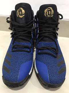 Adidas D Rose 7 Blue Basketball