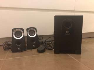 ✨SALE✨ Logitech Multimedia Speakers (Stereo Speakers with Subwoofer)