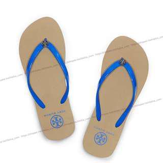 Idalza* 過季零碼 TORY BURCH 輕便 人字拖鞋 夾腳鞋 海灘鞋 沙灘鞋 EVA拖鞋 正品(出清)