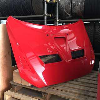 CZ4A Carbon painted bonnet EVO X