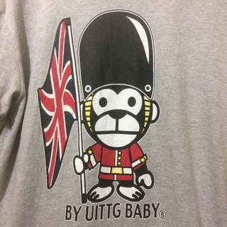 Ts UITTG 'Hyper Primates England Guard' ringer Sz L
