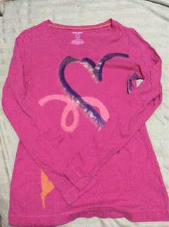Old Navy fushia pink long sleeve top
