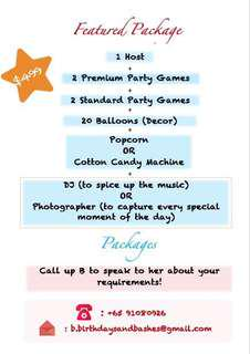 Party Host for Kids