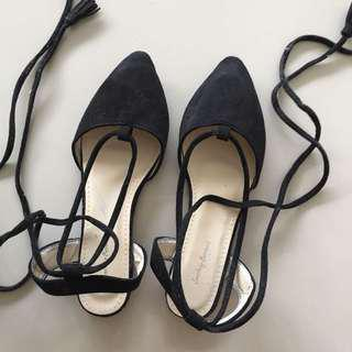 Ballerina Black Shoes