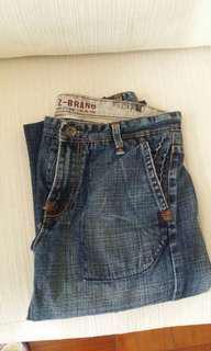 美國品牌Z-Brand低腰牛仔褲