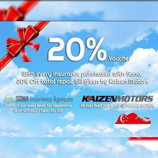Servicing / Insurance / Polishing Voucher