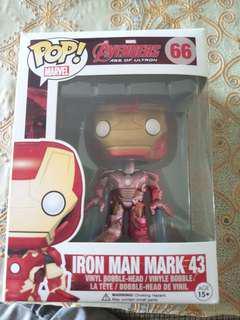 Iron Man Mark 43 Funko Pop Vinyl Bobblehead