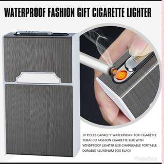 🚚 Cigarette box with electric lighter