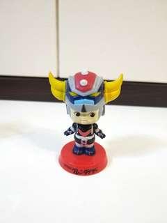 日本 正版 Run's 絕版 鐵甲萬能俠 永井豪 x Kewpie 丘比寶寶 搖頭 擺設 figure Sonny Angel bb