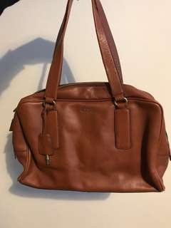 FOSSIL genuine leather handbag