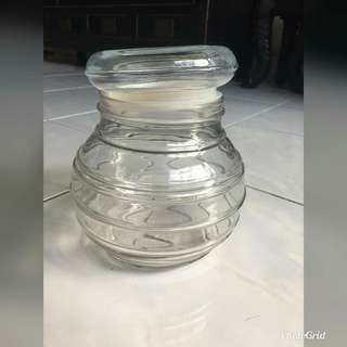 Air Tight Glass Container 6Pcs