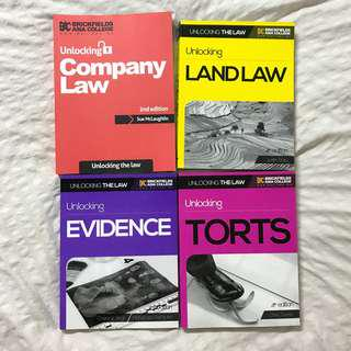 Unlocking Law Textbooks
