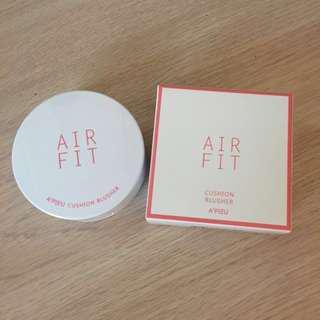 🚚 現貨-全新韓國A'PIEU airfit氣墊粉餅 Pk01 粉色系