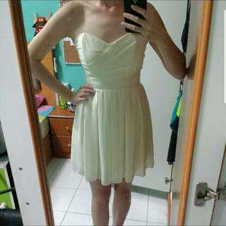 TNFC Sweetheart Pleated Dress
