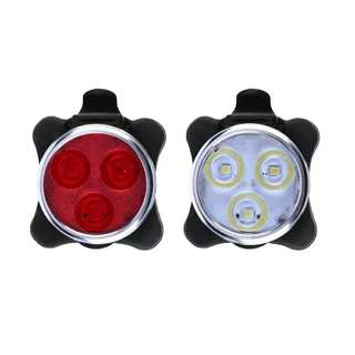 """Bicycle rechargeable LED light """"160 lumens """""""