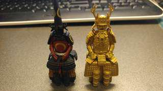 日本武士擺設