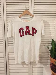 GAP Logo White T-shirt