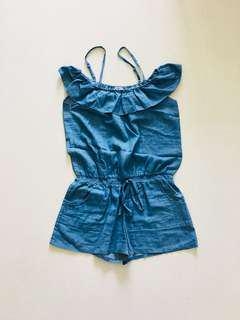 Ladies denim Romper