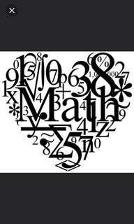 Hiring Sec/JC Maths Co-Tutor/Tutor