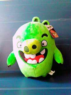 🚚 現貨Angry Birds 綠豬正版