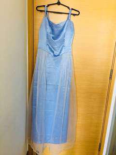 Ladies Light Blue Dress