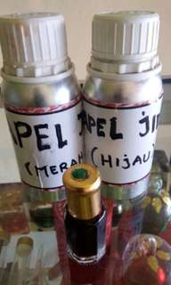 bibit minyak apel jin merah dan hijau 7 ml