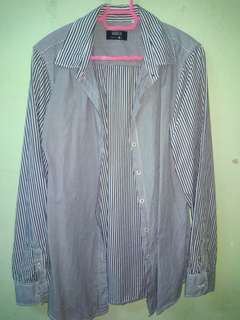L / Stripes Shirt by GOGGLES #MY1212
